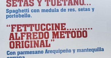 Fettuccine Alfredo, la mejor pasta Alfredo en Chosica